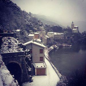 Ambialet sous la neige