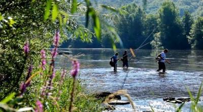 La pêche à Ambialet