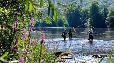 La pêche en eau vive