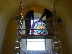 Inauguration Vitraux Eglise de la Condomine