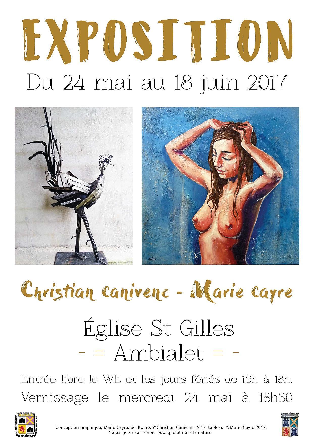 Exposition mai juin