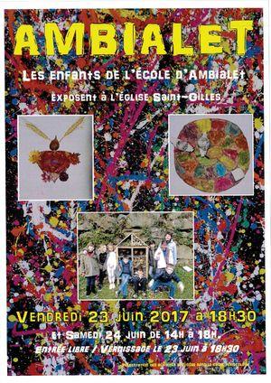 exposition 23 et 24 juin 2017