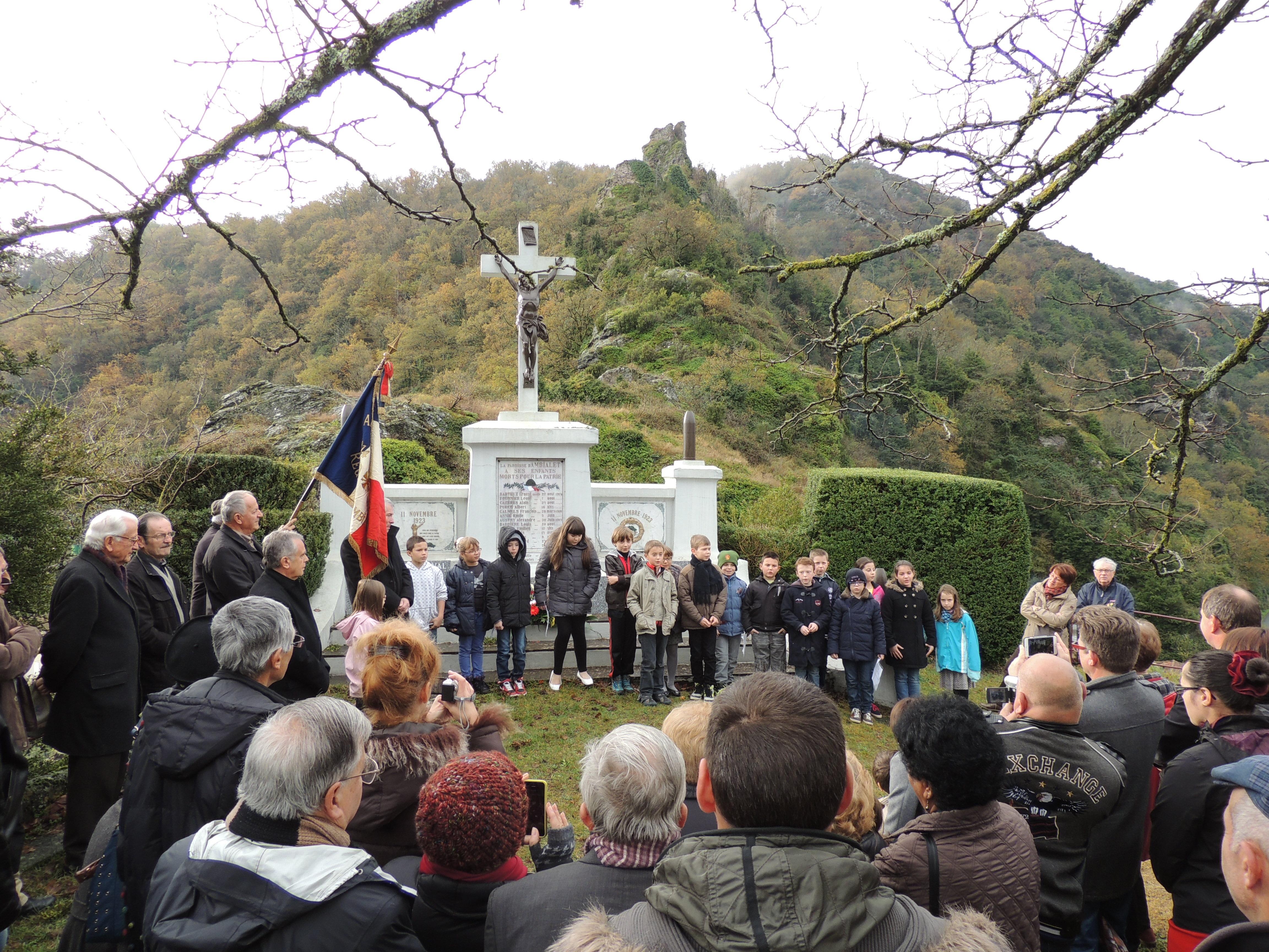 11 novembre 2018 : Commémoration du centenaire de l'armistice