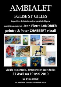 Exposition Eglise st Gilles