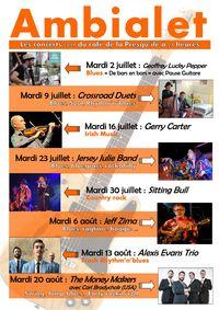 Concert au café de la Presqu'îles