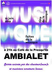 Fête de la musique à Ambialet
